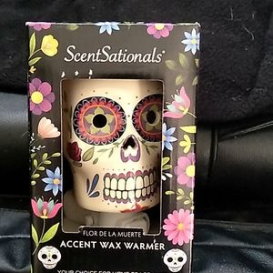 Day of the Dead wall tart warmer